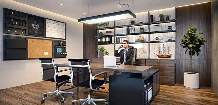 Lựa chọn nội thất cho phòng giám đốc và những điều cần lưu ý
