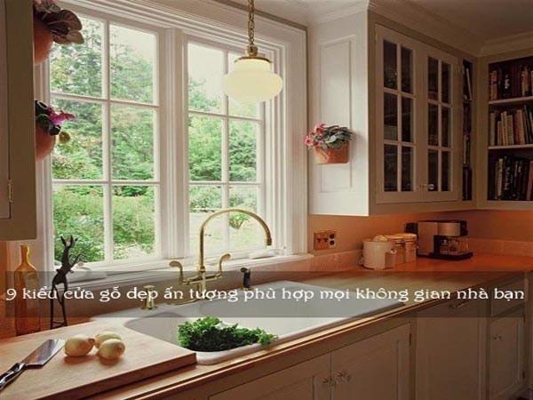 9 kiểu cửa sổ gỗ đẹp, ấn tượng cho không gian sống hiện đại 1