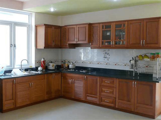 Tủ chứa đồ treo tường là giải pháp cho những căn bếp hẹp