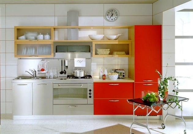 """9 ý tưởng cải tạo phòng bếp nhỏ hẹp cực """"chất"""" đón năm mới"""