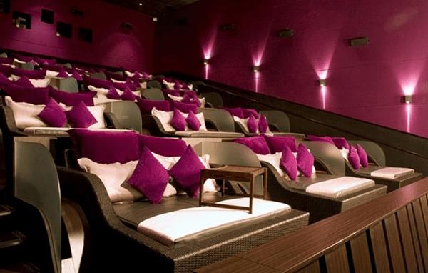 Rạp chiếu phim giường nằm vô cùng sang trọng