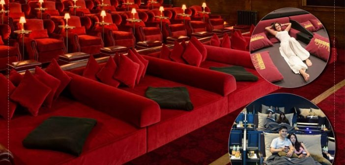 6 trải nghiệm hấp dẫn với ghế rạp chiếu phim giường nằm