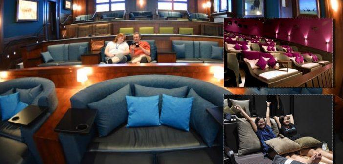 Ghế giường nằm ở rạp chiếu phim có gì độc đáo?