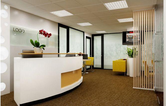 Một mẫu thiết kế văn phòng đại diện đẹp