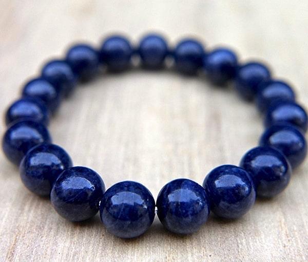 Vòng đá Sapphire xanh