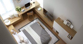 Những lưu ý trong thiết kế thi công nội thất căn hộ nhỏ