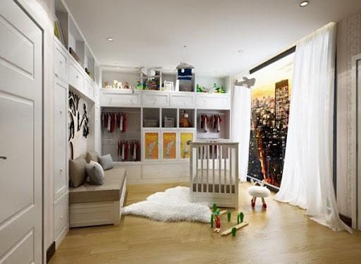 Nội thất phòng ngủ của con trai Phạm Ngọc Thạch