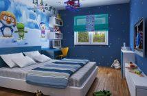 Phòng ngủ thiết kế chuẩn các bé