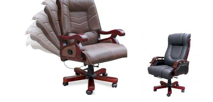 6 mẫu ghế văn phòng có tay vịn cao cấp