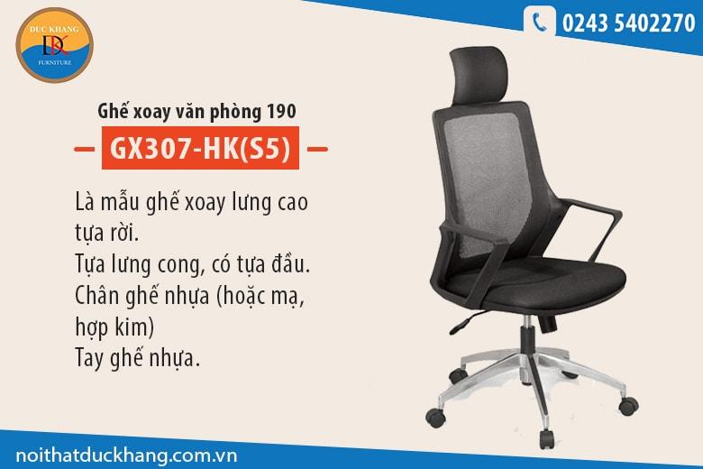 Những mẫu ghế văn phòng có tựa đầu kiểu dáng thanh lịch