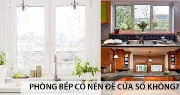 Phòng bếp có nên để cửa sổ không? 5