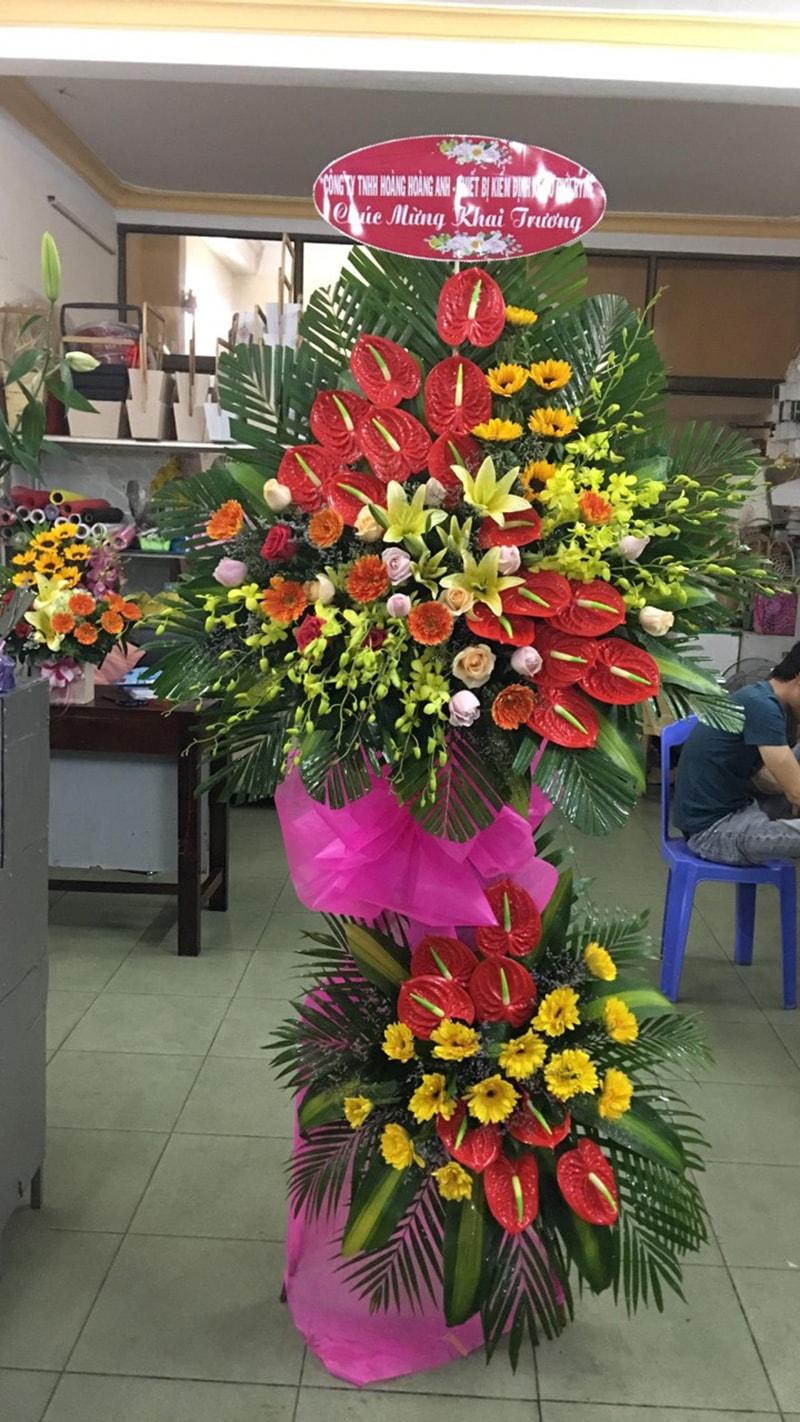 Nên tặng hoa môn đỏ may mắn ngày khai trương