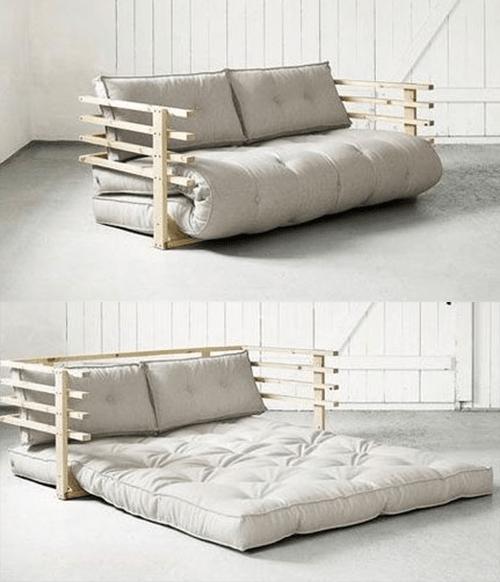 Sofa giường kiểu nệm gấp