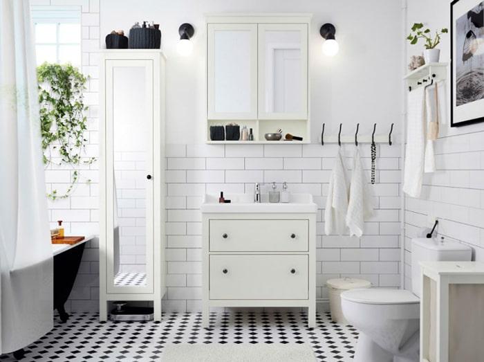 Một gợi ý khác khi thiết kế nội thất theo tông màu trắng đen