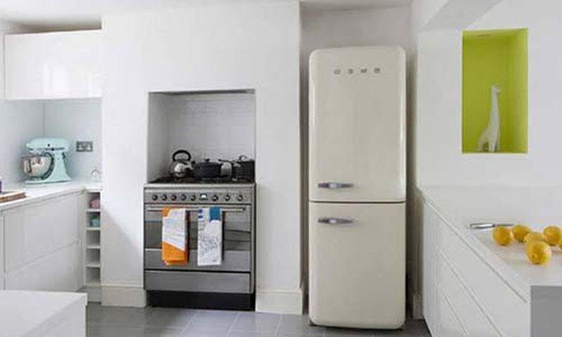 Đặt tủ lạnh trong bếp sẽ giúp thu hút tài lộc cho gia đình