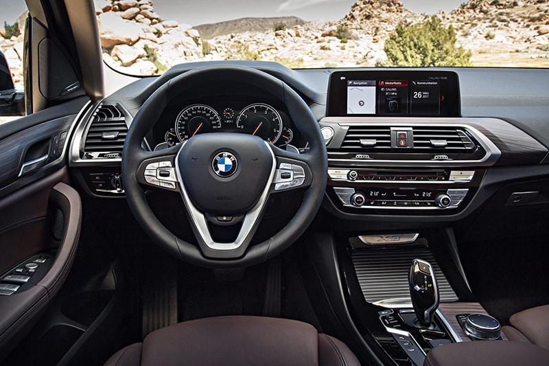 BMW X3 là dòng xe có nội thất cực kỳ sang trọng
