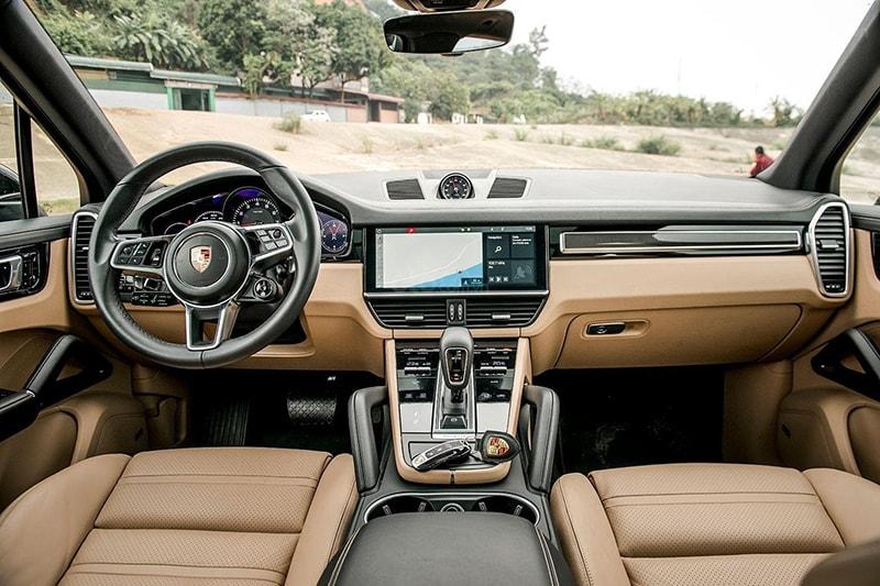 Porsche là dòng xe có nội thất cực kỳ sang trọng