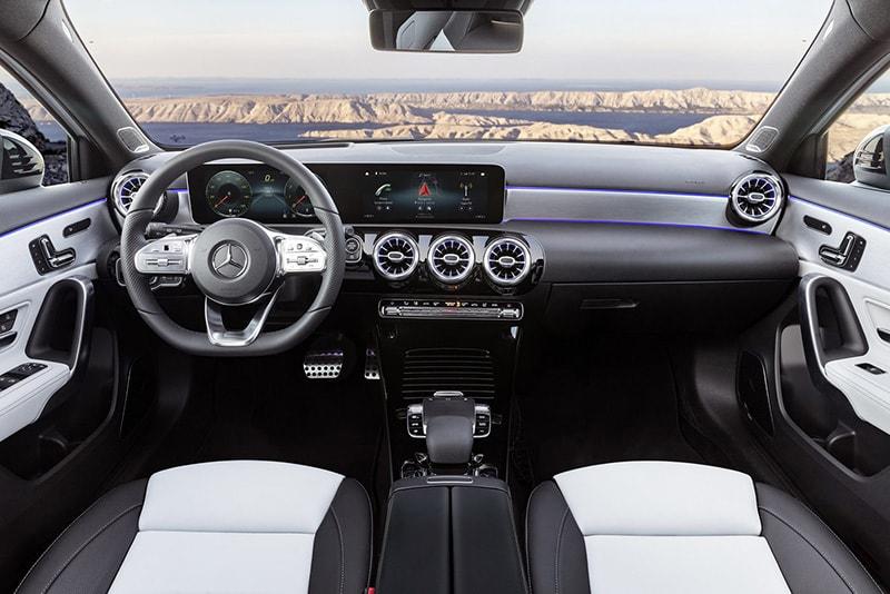 Mercedes A200 là dòng xe có nội thất cực kỳ sang trọng